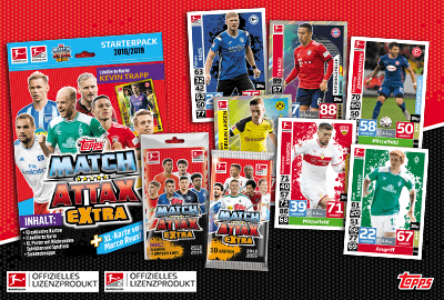 Bundesliga Match Attax Extra 2018/19
