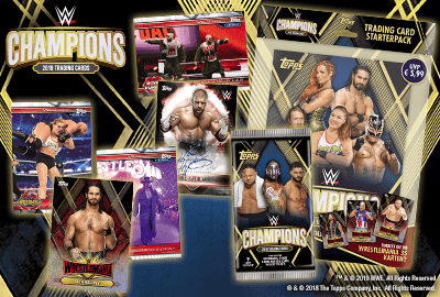 WWE Champions Trading Cards 2019