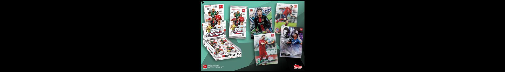 Bundesliga Topps Chrome 2018/19