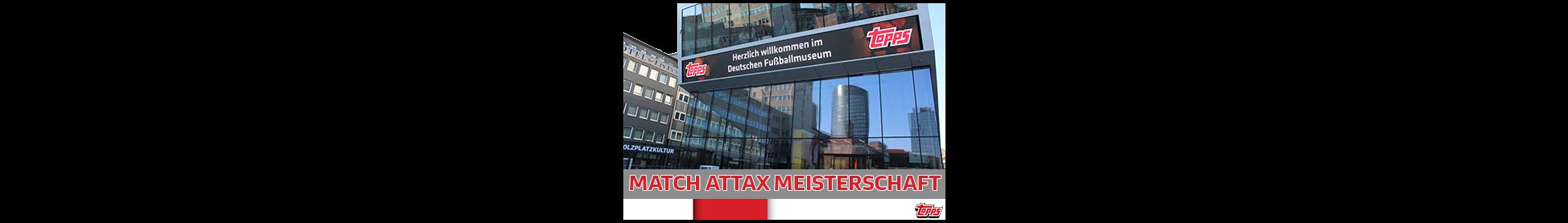 Anmeldung zur Deutschen Match Attax Meisterschaft